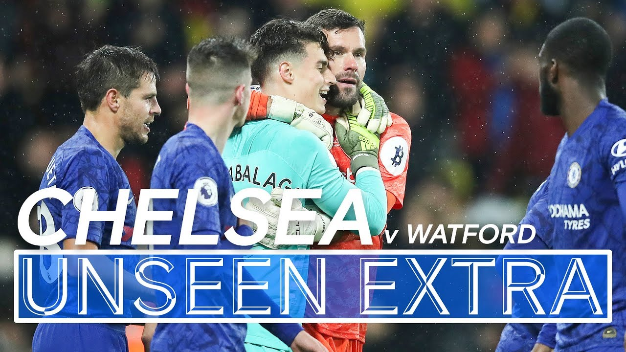 Download Sensational Kepa Arrizabalaga Save Seals Victory | Watford 1-2 Chelsea | Unseen Extra