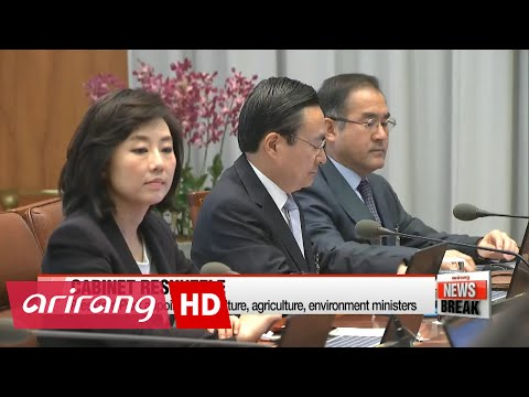 ARIRANG NEWS BREAK 10:00 President Park appoints new culture, agriculture, environment ministers