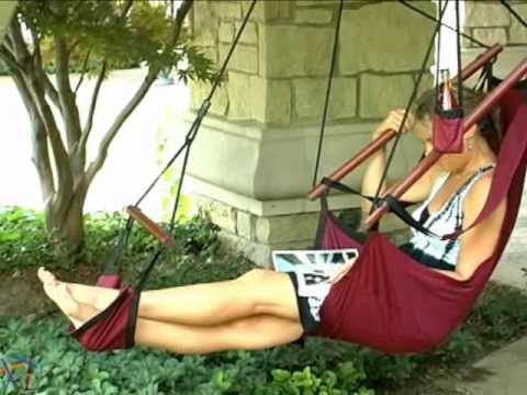 The Ultimate Hanging Air Chair - Product Review Video