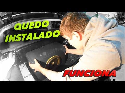 INSTALACION DEL NUEVO AUDIO !! *GROUND ZERO ( 2DA PARTE )  - Lucas Ramirez