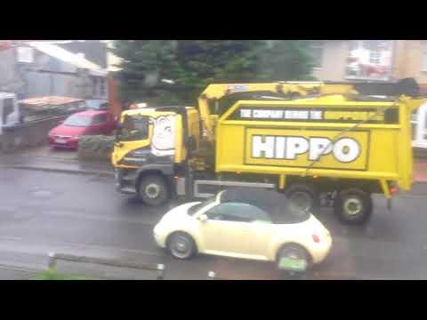 TNT & Hippo Bag Going Past Glenville Road