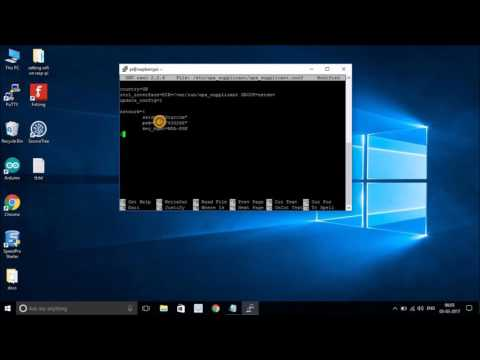 Setup WiFi Network on Raspberry Pi 3: Wireless Settings