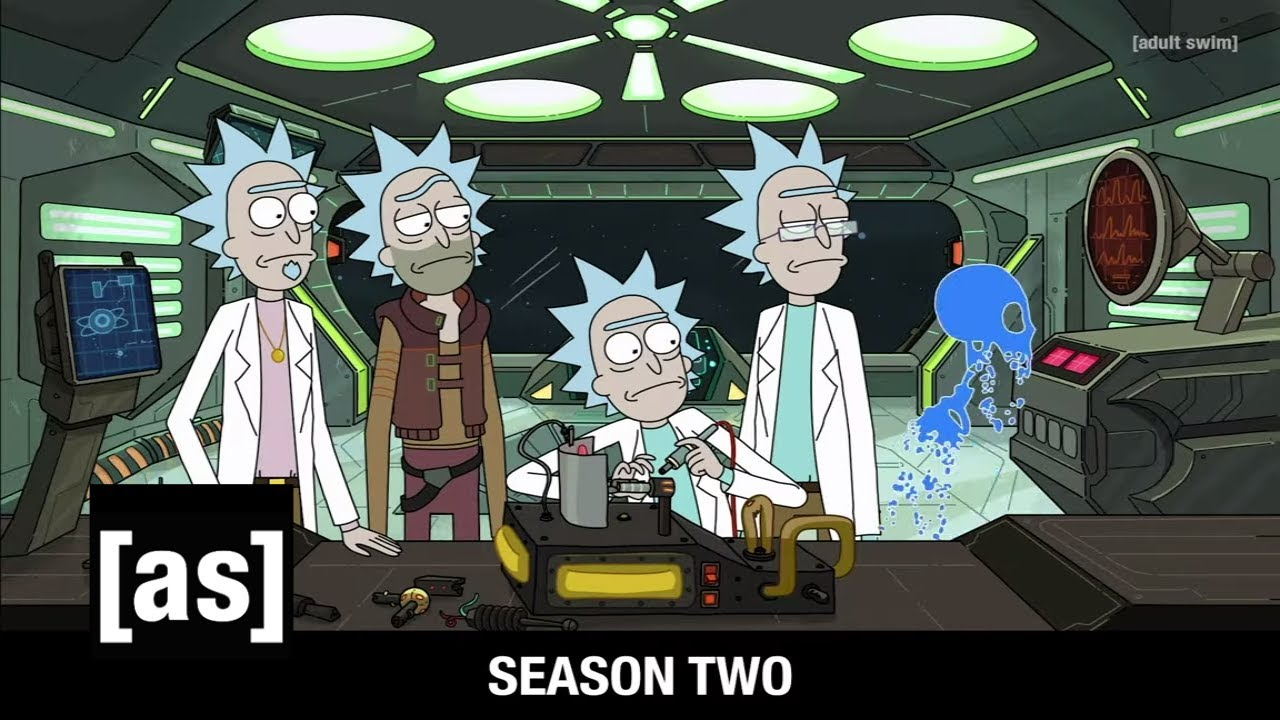Seasons 1-3 Opening Credits   Rick and Morty   adult swim