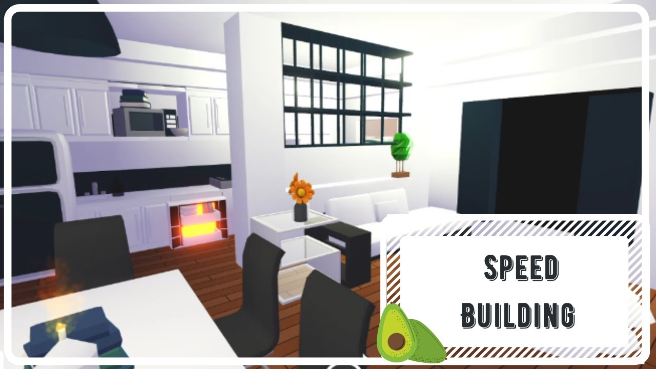   🥑 Speed Building - Tiny House 🥑   Adopt Me (ROBLOX) + Bedroom Tour