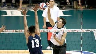 Hawaii Warrior Men Volleyball 2016 - Rematch: #7 Hawaii Vs #2 BYU