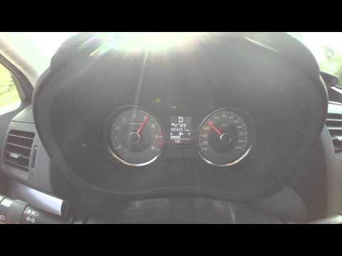 2013 Subaru Forester 2.0 CVT Acceleration 0-100 kmh (0-60 mph)