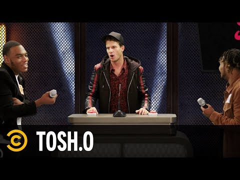 Web Rematch: One Hole or Two? - Tosh.0