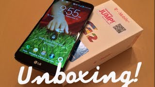LG G2 D801 Black T-Mobile Version - Unboxing!