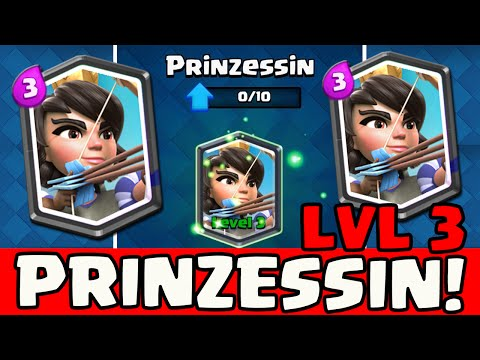 PRINCESS LVL 3 ★ CLASH ROYALE [151] ★ Clash Royale deutsch ★ GERMAN DEUTSCH HD ★