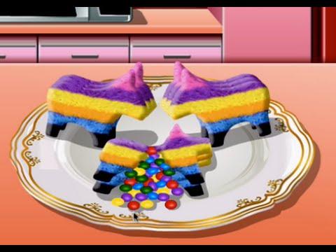 Juegos De Sara Cocina | Galletas Pinata Juegos De Cocina Con Sara Youtube