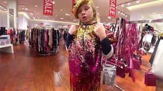 VLOG Мальчики против девочек Виртуальная реальность против шоппинга Николь в Лас Вегас CES 2018
