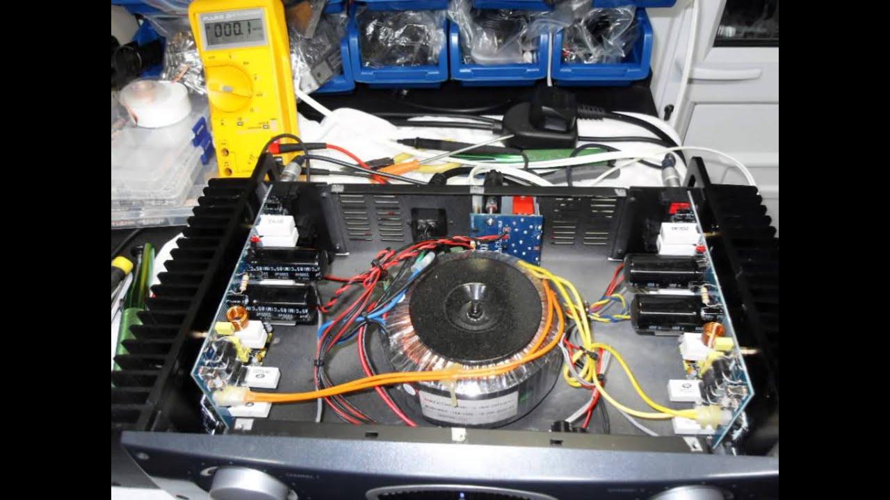 Behringer A500 Amplifier Repair by Audio Amplifier Servicing