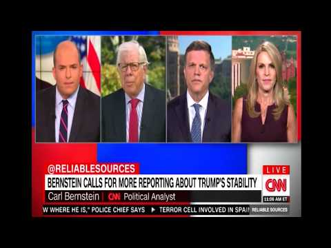 ''IS TRUMP Suffering from MENTAL ILLNESS'' Brian Stelter Questions Trump's Mental Fitness