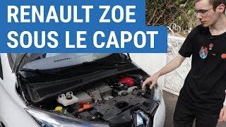 Sous le capot de la Renault Zoe