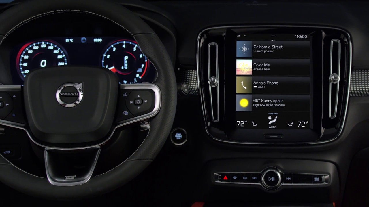 The New Volvo XC40 Interior - YouTube