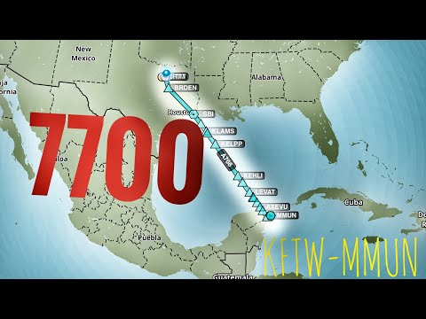 In Flight Emergency Flying Over The Gulf of Mexico? Continue Or Turn Back? = Time Points