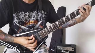 Exodus - And Then There Were None - guitar cover