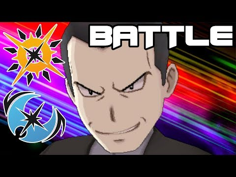 Pokémon Ultra Sun and Ultra Moon Postgame: Battle with Giovanni!