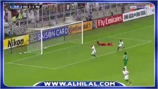 هدف #السعودية الأول على العراق - يحيى الشهري - تصفيات كأس العالم 2018 ج7