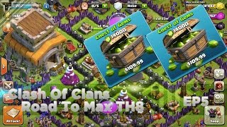 Clash Of Clans - Road To Max TH8 : Ep5 - Crazy Gemming Spree! 28,000 Gems!