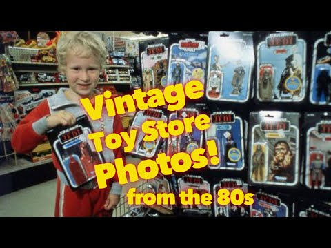 Vintage Toy Store Photos from the 80s!