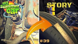 Adjusting the Distributor - Ruler (checking tire wear) - My Summer Car Story #30
