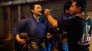 2013年8月19日 お盆 ウンケー(迎え日) 園田青年会のエイサー道...