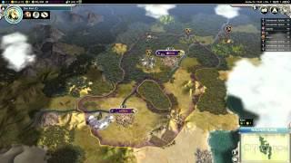 Let´s Play Civilization V Gods & Kings #003 [Deutsch] [HD] - Die erste Botschaft