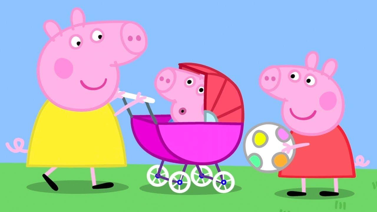 timeless design fe6f2 d480e Peppa Pig Italiano - Bebe' Pig - Collezione Italiano - Cartoni Animati