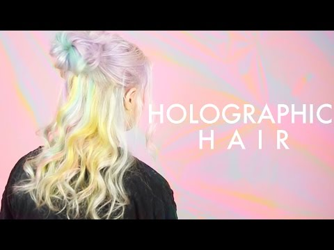 How to get Holographic Hair