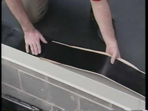 Firestone Epdm Roof Edge Youtube