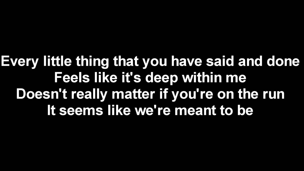 Backstreet Boys Lyrics - I Promise You (With Everything I Am)