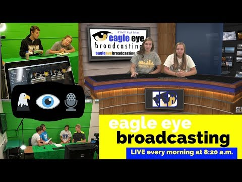 Eagle Eye Broadcasting LIVE Daily Announcements