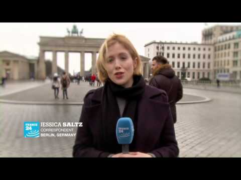 Jessica Saltz, one of the 160 France 24 correspondents around the world