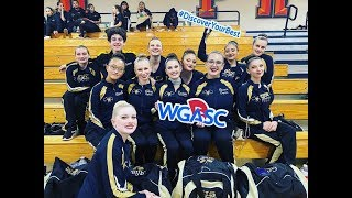 Canyon High School (OC) - Winter Guard, February 15, 2020 - WGASC Kick-Off
