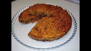 ПП Пирог с морковью невероятно вкусный