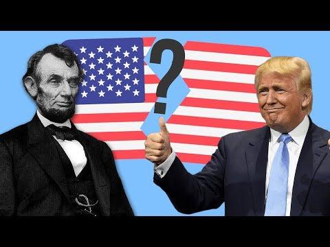 Как США могли развалиться ?
