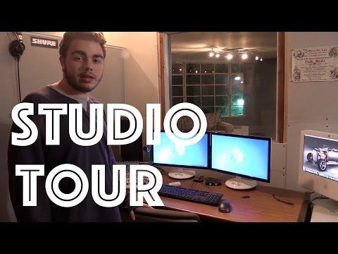 Inside Radio Studio Tour