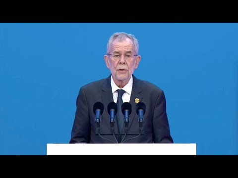 Austrian president: Trade war is the last thing we need
