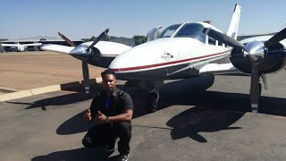 Multi Engine Flying - Old Town Road - Piper Seneca II Turbo (Eagle Air) South Africa