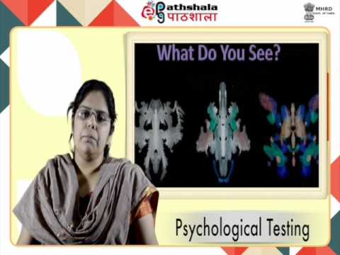 Psychological tests and their types (PSY)