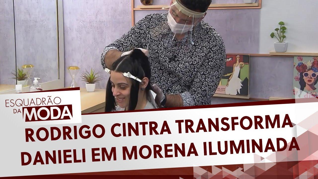 Rodrigo Cintra transforma Danieli em morena iluminada   Esquadrão da Moda (11/07/20)