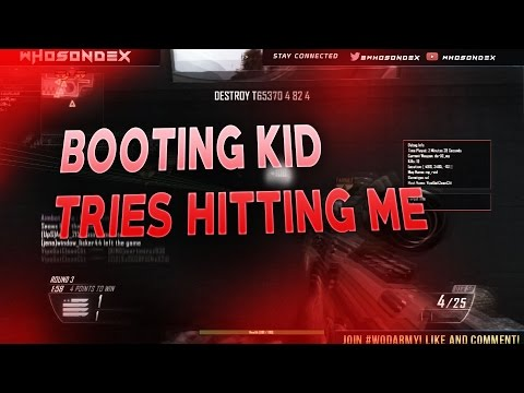 BOOTER SAYS HOST IS GOING OFFLINE IF THERES A MODDER!! | I WAS HOST?!!!