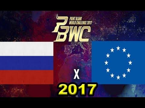PBWC 2017 - FTW [Europa] Vs [Rússia] Respect - Point Blank