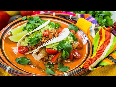 Isaiah Mustafa's BBQ Cauliflower Tacos - Home & Family