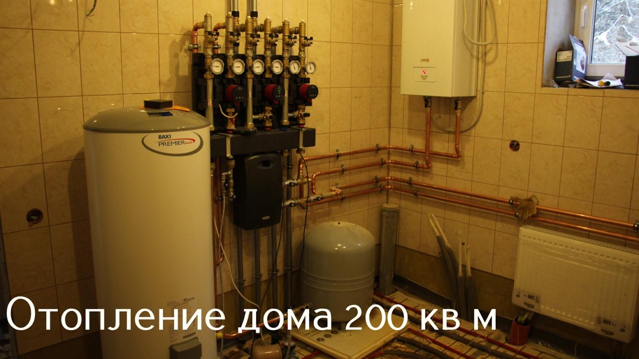 отопление м
