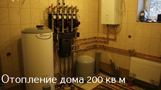 видео Как устроить отопление частного дома без газа? » Аква-Ремонт