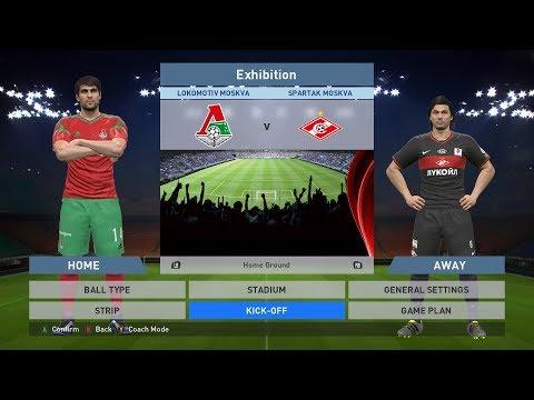Lokomotiv Moskva vs Spartak Moskva, Lokomotiv Stadium, PES 2016, PRO EVOLUTION SOCCER 2016, Konami