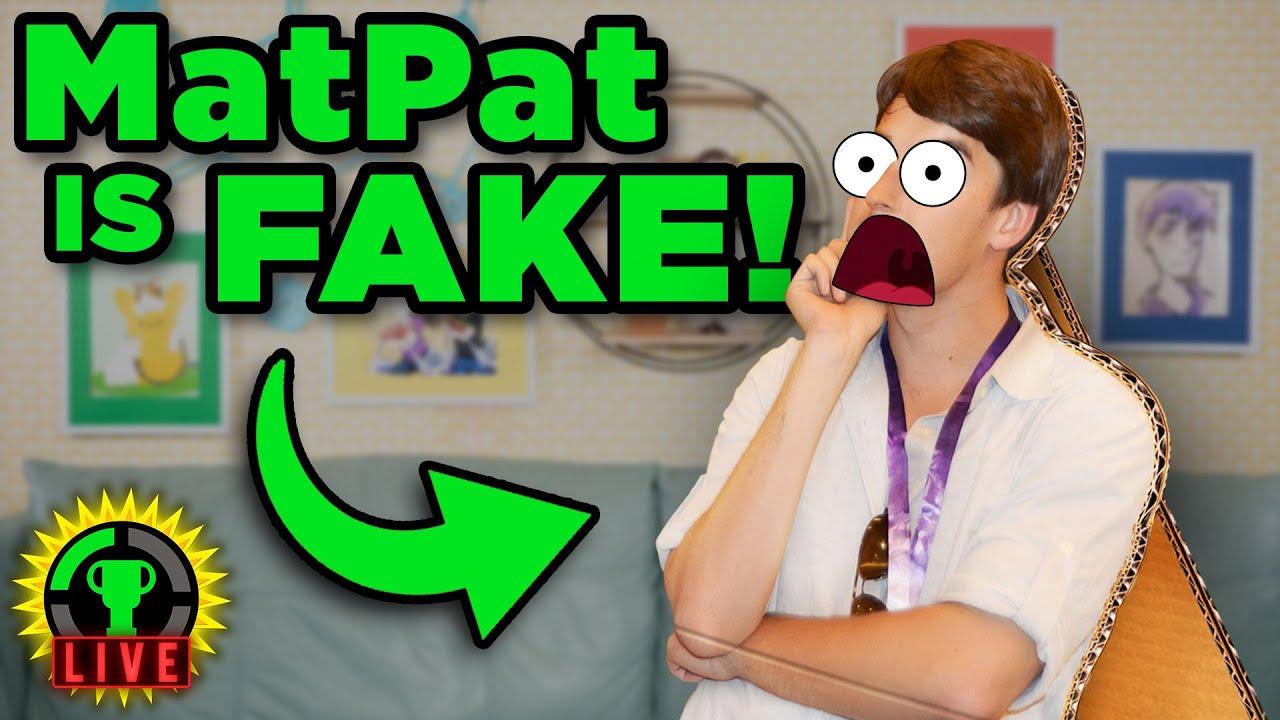 MatPat Does Not EXIST! | MatPat Meme Review 👏🖐