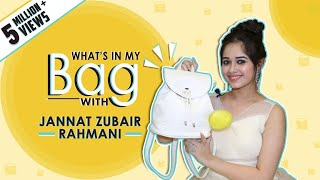 What's In My Bag With Jannat Zubair Rahmani | Bag Secrets Revealed | Exclusive
